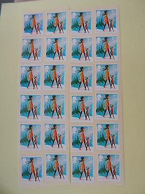 gb stamps. s g 2876. Christmas Stamps. Face Value  £10.44.
