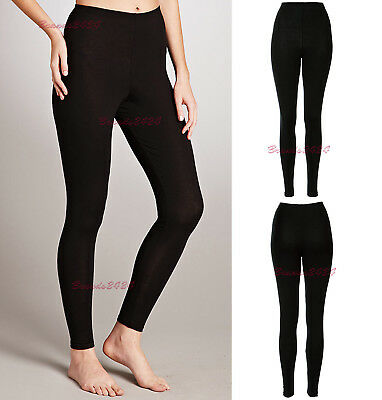 NEW WOMEN LADIES THICK WINTER THERMAL LEGGINGS FLEECE LINING SIZE 8 to 16