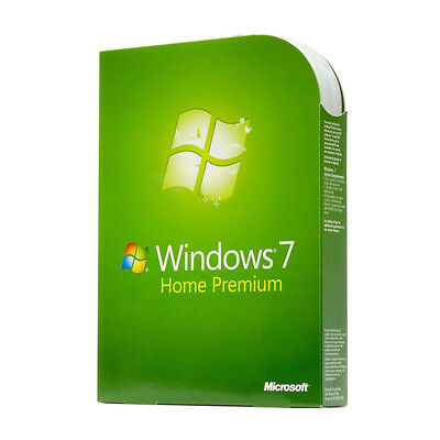 Windows 7 Home Premium 32/64bit  OEM Product Key