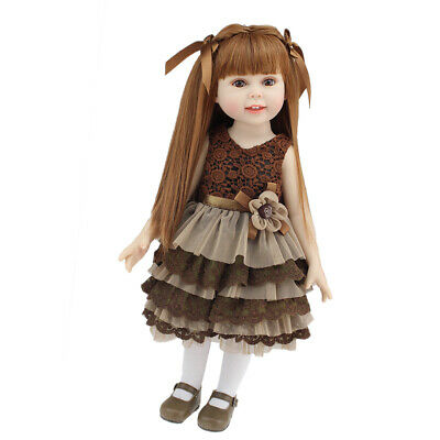18inch Realistic Fashion Doll - Little Girl Model - For AG American Doll Dolls