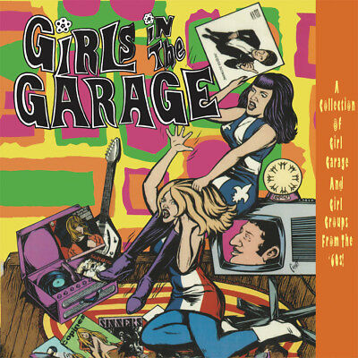 Various - Girls In The Garage Volumes 7 - 12. 6CD Box Set + Sealed **NEW**