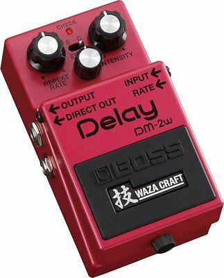 BOSS DM-2W (J) Made in Japan Waza Craft Delay Guitar Pedal Effect  FREE EMS