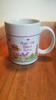 MOMS Love Blooms Forever coffee Mug cup AVON Gift Collection moms make love grow