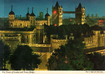 England - London  -  The Tower of London and the Tower Bridge  -  1979