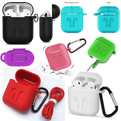 Silicone Case Cover Anti-lost Earphone Strap Holder Apple Airpod Air Pod