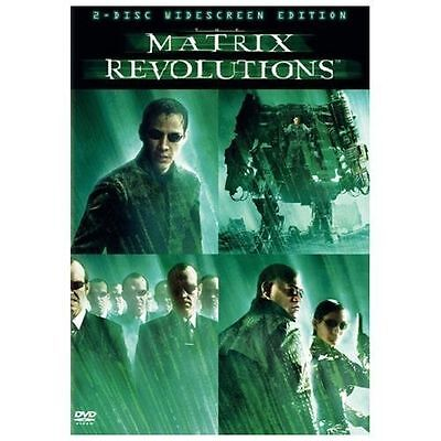 The Matrix Revolutions (Two-Disc Full Screen Edition) [DVD] BRAND NEW-SEALED