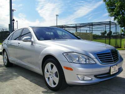 2007 S-Class S 550 4MATIC LOW MILES!! CLEAN HIST!! MERCEDES S550 4MATIC!! NIGHTVIEW!! PANO!! NAV!! PRM 2!!