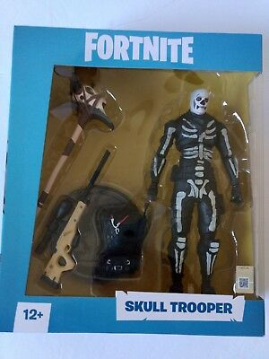 FORTNITE Skull Trooper 7 inch Action Figureby McFarlane Toys Brand New SOLD OUT