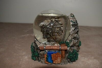 Old Man of the Mountain SNOW GLOBE Limited Edition Numbered Collectible RARE