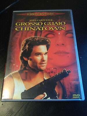 GROSSO GUAIO A CHINATOWN DVD COME NUOVO 1 DISCO John Carpenter Kurt Russell