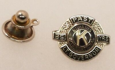 Kiwanis Intnl 35 Year Past Lieutenant Governor Lapel Pin Tie Tack Hat Button