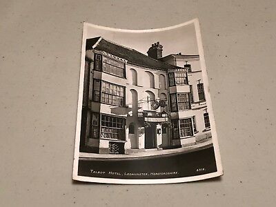 Leominster Postcard Lounge Bar Talbot Hotel Herefordshire Rp 2 99
