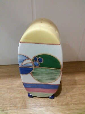 Clarice Cliff Collection Sugar Shaker By Wedgwood / Melon / Bizarre