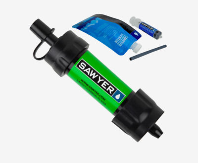 (Express Shipping) 8 x SAWYER SP101 GREEN MINI WATER FILTER (FOC Extra Pouch)