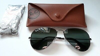 0d5cc9ab27 Sale New Rayban P Rb3025 Aviator Metal 004 58 58014 1353 Polarized Made In  Italy