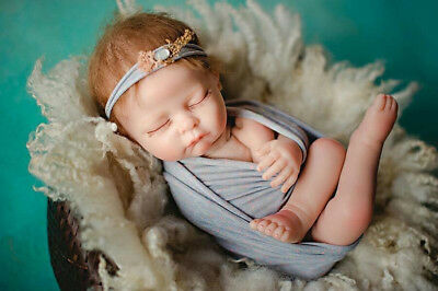 21'' Alive Reborn Baby Soft Silicone Girl Boy Doll Toy Sleeping Toddler Gifts UK