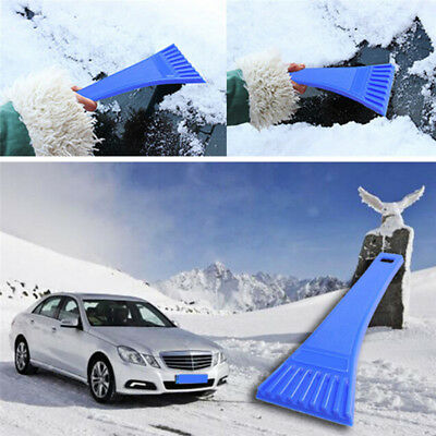 Car Automobile Windshield Winter Snow Ice Shovel Scraper Cleaning Tools FDCA