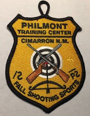 Philmont Fall Shooting Sports Patch