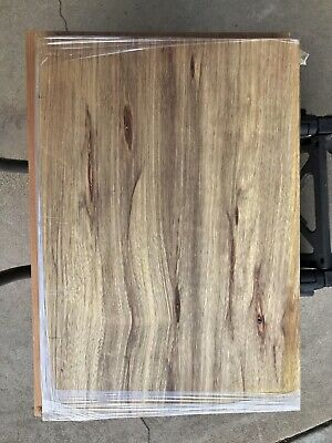 "High Color Black Limba 2 pc 19"" x 13.75 "" x 1.78"" Kiln Dried sanded"