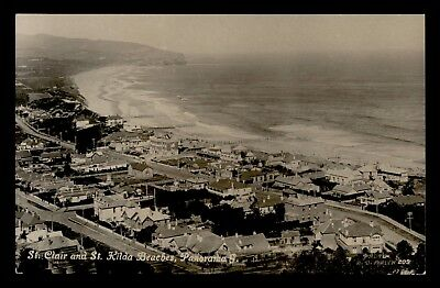 Dr Who 1926 New Zealand St. Clair And St. Kilda Beaches Postcard C59762