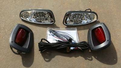 EZGO RXV Full LED Light Kit / LED Headlights & LED Tail Lights 2008-2015
