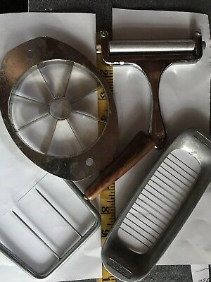 lot of 4 antique vintage kitchen utensils  items presto ekco butter slicer