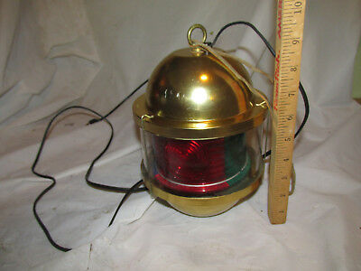 Vintage Trippe Rotating Light 4 Colors Red Blue Green Yellow Lamp Hanging
