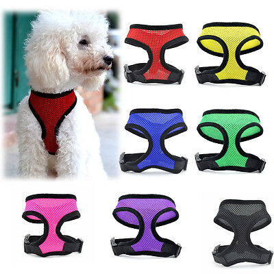 Pet Control Harness for Dog Puppy Cat Soft Walk Collar Safety Strap Mesh Vest*