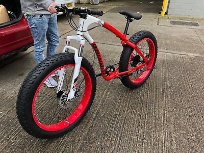 "BRAND NEW 26"" Inch MOUNTAIN BIKE 21 SHIMANO Fat Tyre BIKE FOR ADULT"