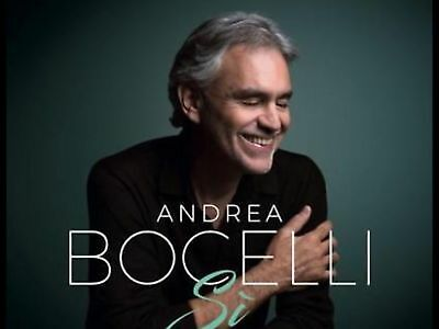 Andrea Bocelli SI **BRAND NEW CD**.