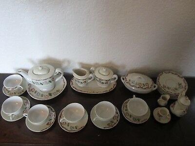 Japanese Miniature Tea Set