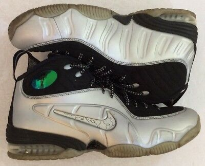huge selection of 95d80 9f13a Nike Air Max 1 2 Half Cent Penny silver Foamposite Shoes 8.5 344646-