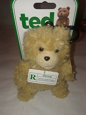 Ted Talking Backpack Clip Plush‑ *R* Rated Eplicit Version