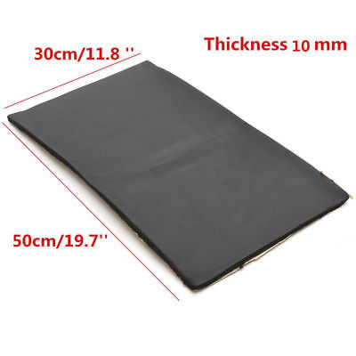 12 Sheet Car Auto Van Sound Proofing Deadening Insulation 10mm Closed Cell Foam~