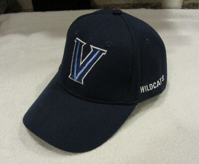 huge selection of 6b8fe 47196 Villanova Wildcats Adjustable Hat-blue-new without tags