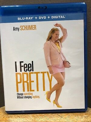 I Feel Pretty (Blu-ray + DVD, 2018, 2-Discs) Amy Schumer