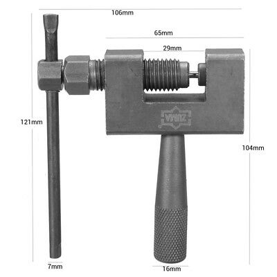 Motorcycle Bicycle Chain Rivet Remover Chain Splitter Cutter Breaker Tool  UK