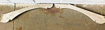 1800's Wooden Antique CORBEL Bracket GINGERBREAD Porch Molding CHIPPY Paint