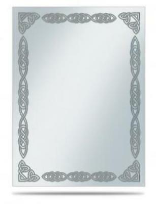 Ultra Pro Card Sleeves Deck Protector Sleeves - Silver Celtic Border (10  MINT