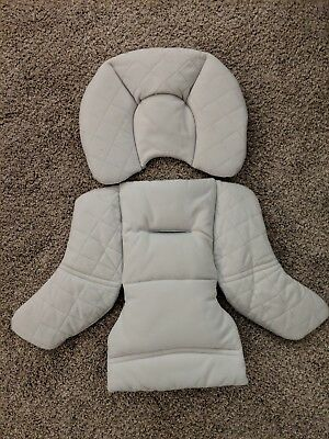 STOKKE Pipa by NUNA Car Seat Insert Head Body Cushion Replacement Part Gray