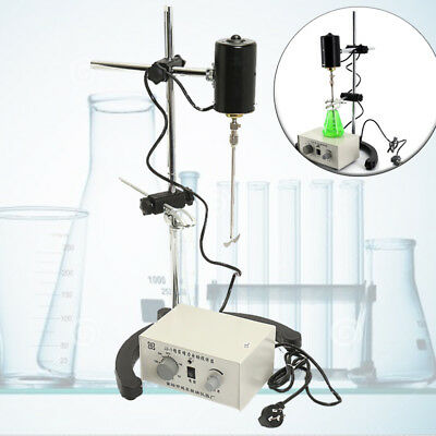 3000rpm Laboratory Precision Force Electric Mixer Overhead Stirrer
