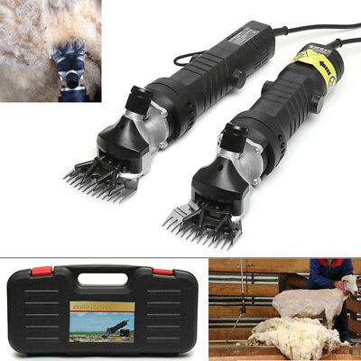 650W Heavy Duty Electric Sheep Goat Clipper Animal Shearing Trimmer
