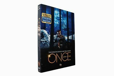 Once Upon a Time:Season 7 The Complete Seventh  (5-Disc set) Brand New
