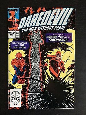Marvel: DAREDEVIL MAN WITHOUT FEAR (1989) #270 VF/M 9.0 Mephisto Son Blackheart