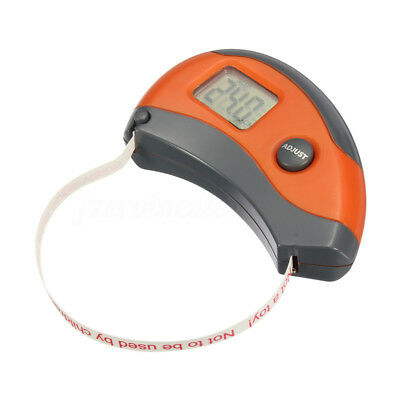 1.5M 0.1CM Digital Measuring Tape Accurately 8 Body Party Exercise Weight