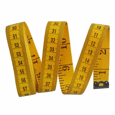 120'' (3M) Tailor Seamstress Cloth Body Ruler Tape Measure Sewing SOFT TOOLFBDU