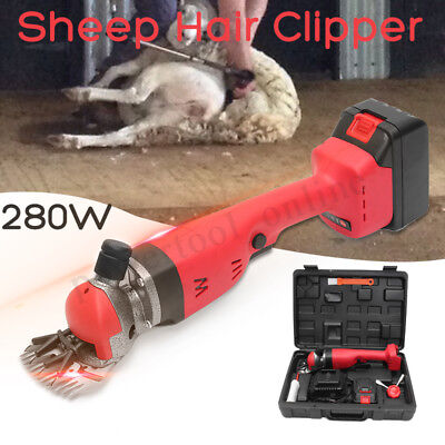 400W Cordless Sheep Goats Clipper Trimmer Shaver Shearing Hair Removal Kit  UK