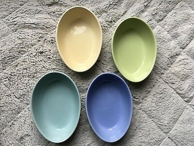 NEW Williams-Sonoma Pastel SPOTTED EASTER EGG Bowls - Set of 4 - NIB