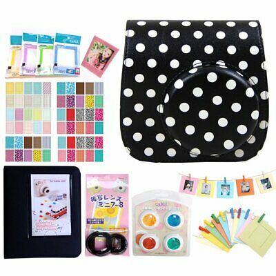 7 In 1 Instant Film Camera Album Bundles Kit For Fujifilm Instax Mini 8/8+/9 IK