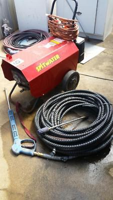 Spitwater Hp201S 3000Psi 21Lpm 10Hp 3Phase 20Amp High Pressure Cleaner 40Mt Hose